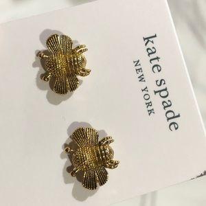Kate spade bumble bee earrings